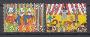 Faroe Islands - 2002 Europa Sc# 414/415 - MNH (760N)