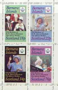 Bernera 1985 Life & Times of HM Queen Mother perf she...