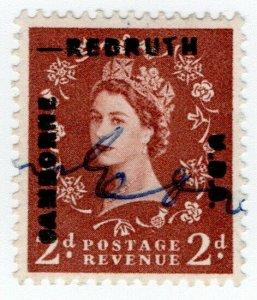 (I.B) Elizabeth II Commercial Overprint : Camborne & Redruth UDC