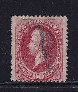 144 F-VF used face free cancel PSAG cert with nice color cv $ 2500 ! see pic !