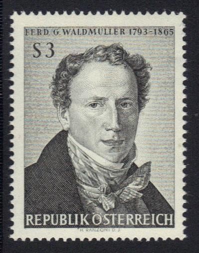 Austria 1965 MNH  Waldmuller   complete