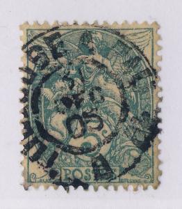 FRANCE 1905 (31/12) CàD AMBULANT NUIT T2 TOULOUSE À PAU 1°/B (ind.12) /Yv.111