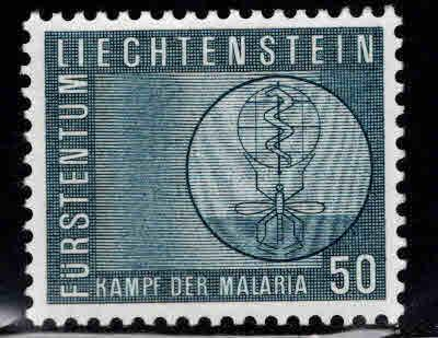 LIECHTENSTEIN Scott 371 MH* Anti Malaria  stamp