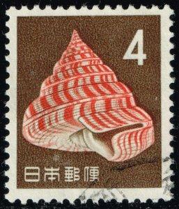 Japan #746 Hirase's Slit Shell; Used (4Stars)