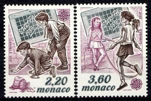Monaco 1989 SG 1947-1948 MNH (10497)