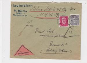 germany 1931 stamps cover ref 18928