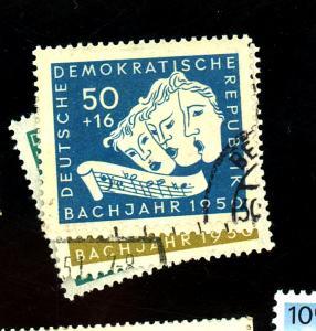 German DDR #B17-20 Used VF Cat $32