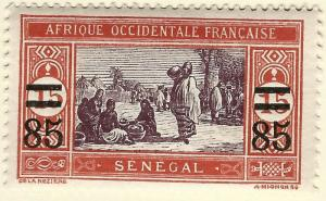 Senegal Sc #125 F-VF Mint OG hr French Colonies are Hot!