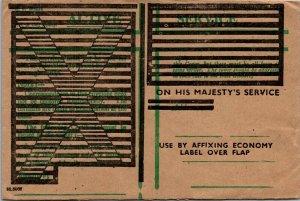 Admiralty London UK > Marconi Marine Communication overprint active service 1942