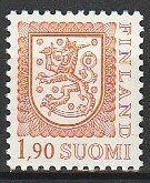 1989 Finland - Sc 714 - MNH VF - 1 single - Coat of Arms