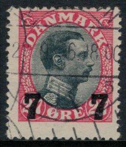 Denmark #182  CV $15.00