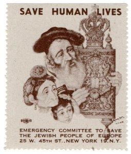 (I.B) US (WW2) Cinderella : Jewish Emergency Fund (Rabbi)