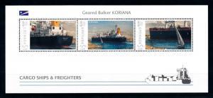 [90875] Grenada 2009 Cargo Ships Geared Bulker Koriana Sheet MNH