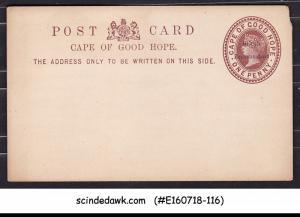 BRITISH BECHUANALAND - 1d QV POSTCARD OVPT on CAPE OF GOOD HOPE - MINT