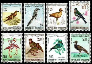1965-66 Tunisia #C25-C32 Airmail Desert Swallows - OGNH - VF - CV$39.10 (E#4173)