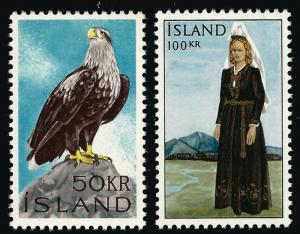 Iceland Attractive Sc #378-79 MNH VF