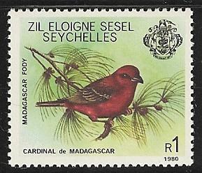 Seychelles Zil Elwannyen Sesel  mnh sc 9