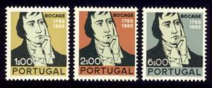 Portugal Sc# 991-3 MNH Bocage