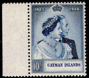 CAYMAN ISLANDS SG130, 10s violet-blue, NH MINT. Cat £24. RSW