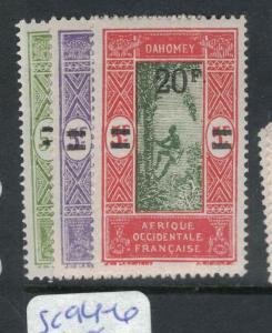 French Dahomey SC 94-6 MOG (5dvz)