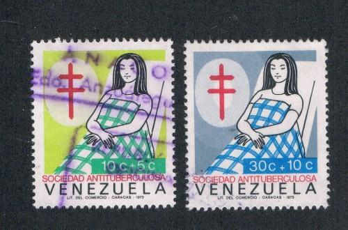 Venezuela B6-B7 Used Red Cross Nurse (V0264)