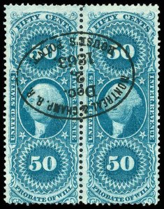 U.S. REV. FIRST ISSUE R62c  Used (ID # 84588)