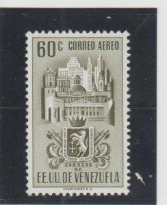 Venezuela  Scott#  C372  MH  (1951 Arms of Caracas)