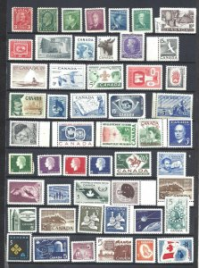 Canada 94  DIFFERENT SCOTT 183/558 MINT NH (SEE 2 PICTURES) (BS13571)