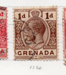 Grenada 1921-31 Early Issue Fine Used 1d. 204892