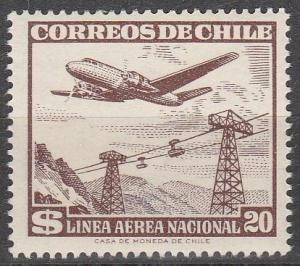 Chile #C209  MNH