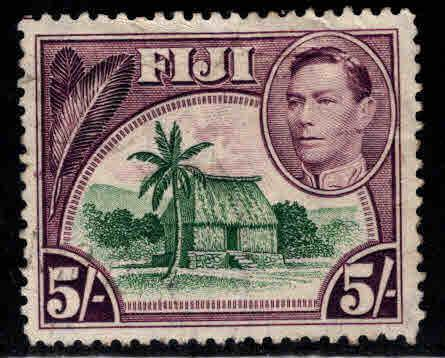 FIJI Scott 131 Used 1948 high denomitation  stamp