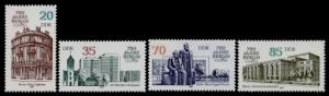 Germany GDR 2587-90 MNH Architecture
