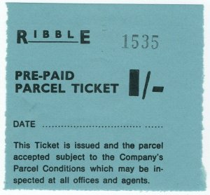 (I.B) Cinderella : Private Carrier - Ribble 1/-