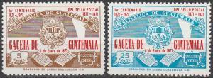Guatemala #C456-7 MNH F-VF (V320)
