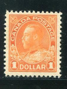 Canada #122 Mint VF   - Lakeshore Philatelics