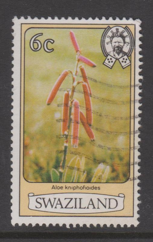 Swaziland 1980 Flowers Sc#351 Used
