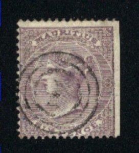 Mauritius #27   used  1860-63 PD