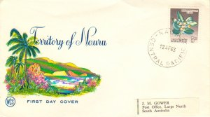 Nauru Scott 51 Label address.