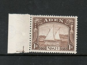 Aden #9 Very Fine Never Hinged Margin Copy