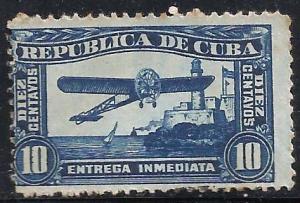 Cuba 1914 Special Delivery Scott # E5 Used