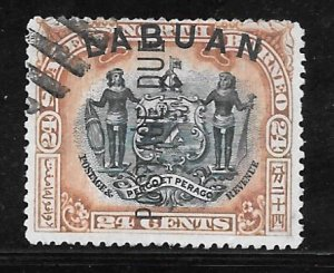 Labuan J9: 24c Arms of North Borneo, used, F-VF