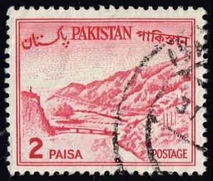 Pakistan #130b Kyber Pass; Used (2Stars)