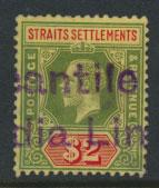 Straits Settlements George V  SG 211 Used white back