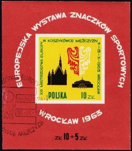 Poland. 1963 Miniature Sheet. S.G.MS1410a Fine Used