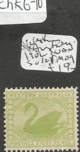Western Australia 1902 Swan SG 121 MOG (6chk)