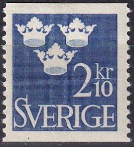 Sweden #473 F-VF Unused CV $7.50 (Z5629)