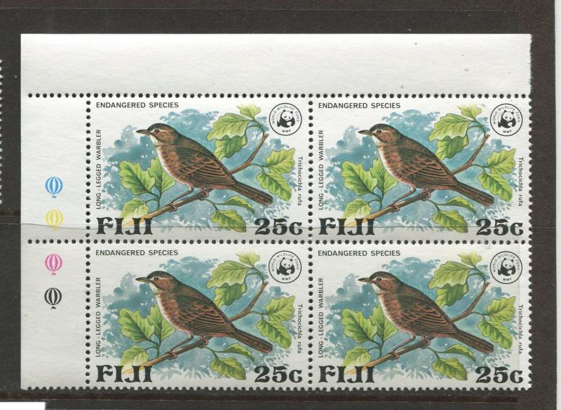 Fiji - Scott 399 - General Issue 1979- MNH - Block of 4 X 25c Stamps