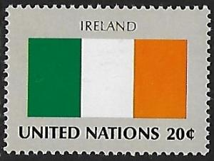 United Nations - NY - # 377 - Flag Ireland - MNH