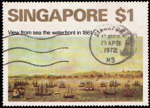 Singapore Scott 149 Used.