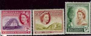 Southern Rhodesia #90-92 Mint F-VF SCV$36.00...Such a Deal!